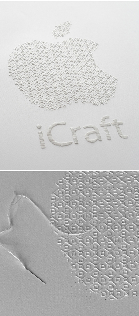 Running stitch, The talk and Arts and crafts on Pinterest