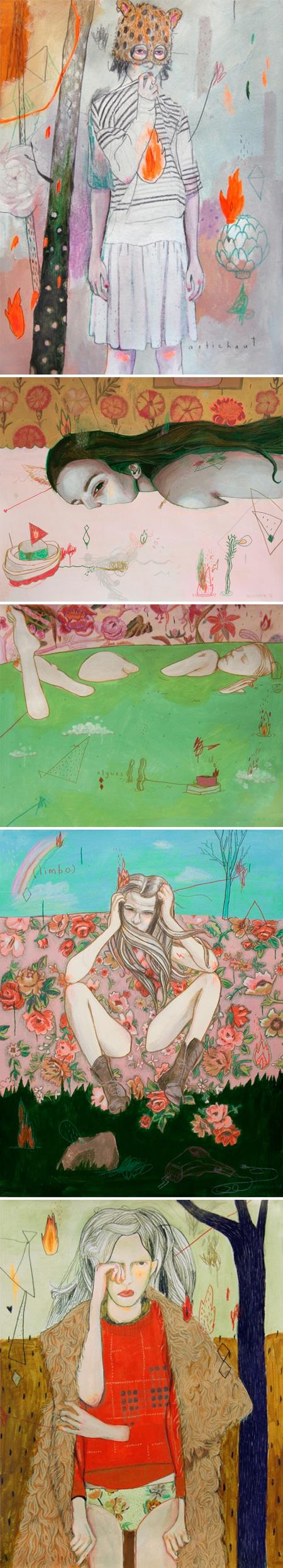 curated contemporary art /// i'm jealous of alexandra levasseur
