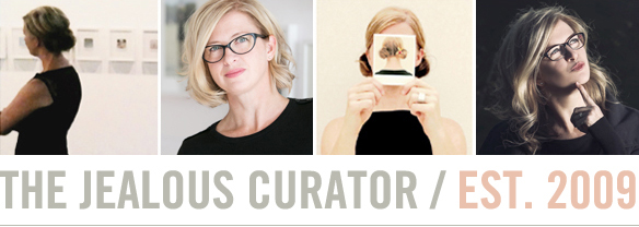 The Jealous Curator /// curated contemporary art /// about…
